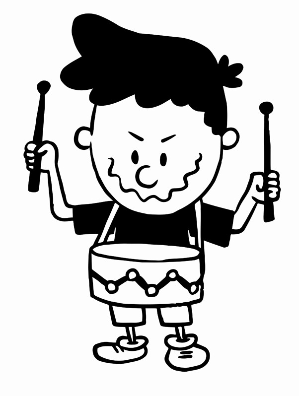 602x798 Cartoon Image Of A Cute Little Boy In Shorts And T Shirt