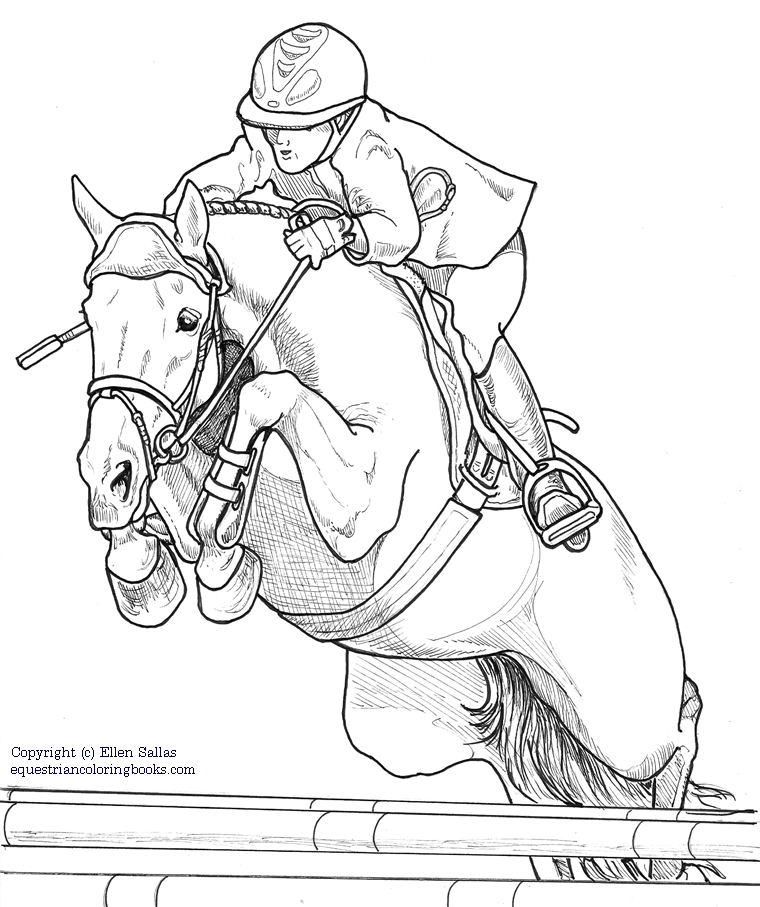 760x907 Equestriancoloringbooks