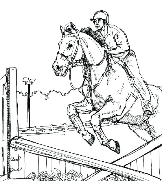 560x627 Horse Racing Coloring Pages Horse Racing Coloring Pages Horse
