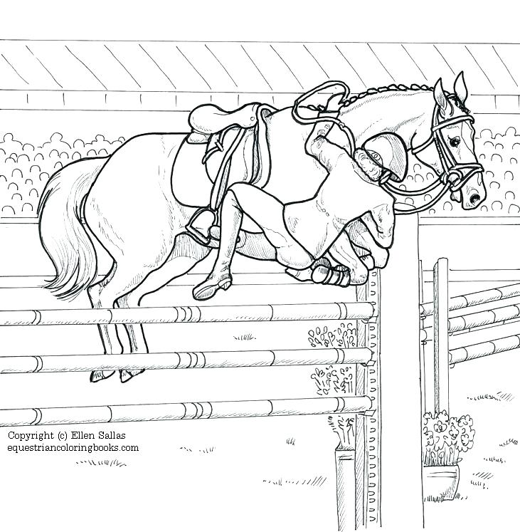 731x747 Horse Riding Coloring Pages Horses Color Pictures Print Coloring