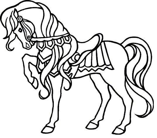 537x473 Horse Show Coloring Page Coloring Book