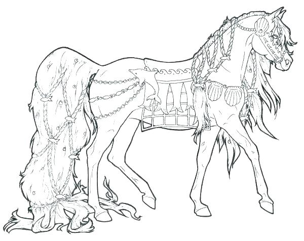 600x476 Horse Jumping Coloring Pages Realistic Horse Coloring Pages Color