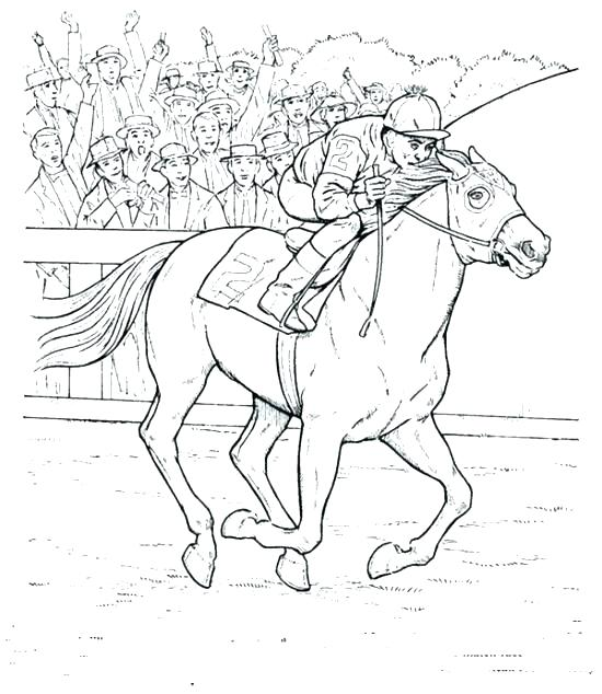 550x634 Horse Riding Coloring Pages Horse Show Jumping Coloring Pages