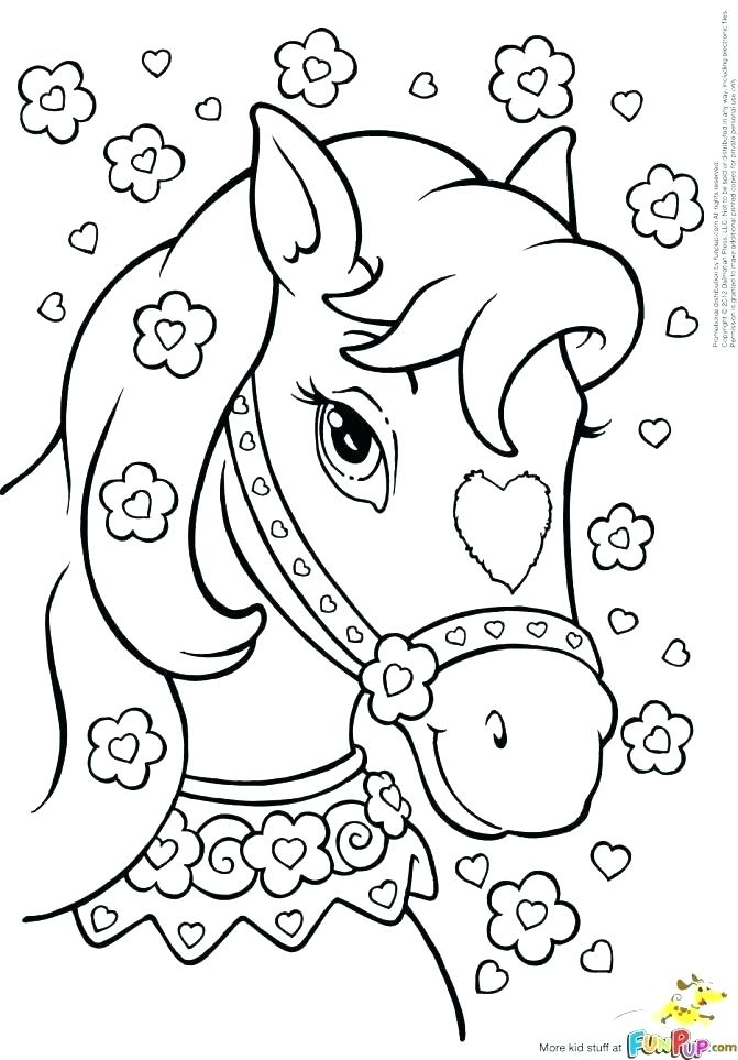 671x963 Barbie Horse Coloring Pages Barbie Horse Coloring Pages Horses