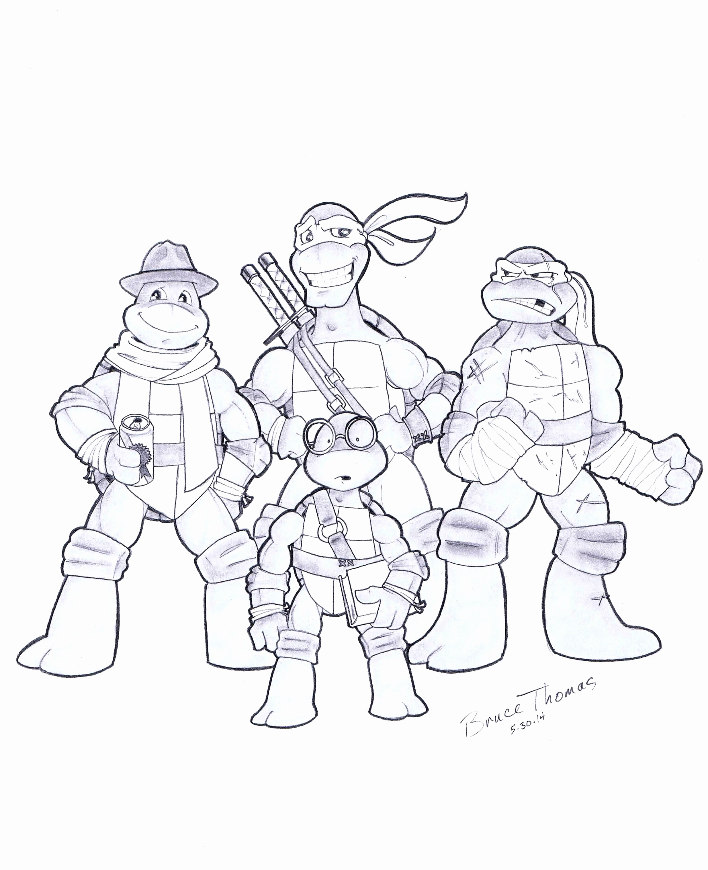 Shredder Coloring Pages At Getdrawings Com Free For Personal Use