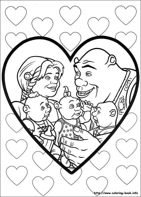 567x794 Shrek Forever After Coloring Picture !my Coloring Pages