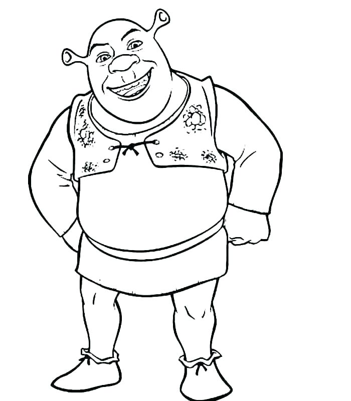 700x800 Coloring Pages Donkey Coloring Pages Donkey A Shrek Dragon