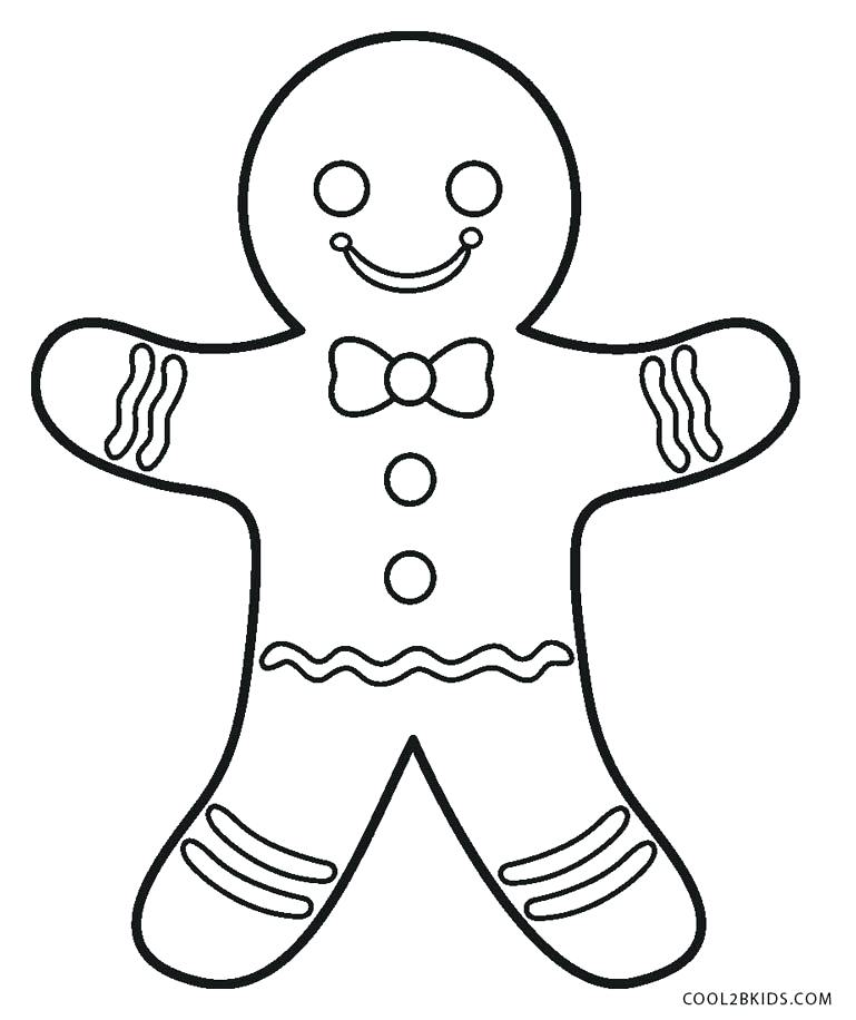 769x916 Gingerbread Man Coloring Pages Gingerbread Man Coloring Page Shrek