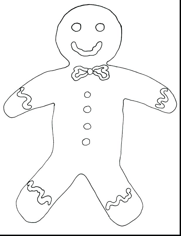 618x806 Gingerbread Man Colouring Pages Coloring Pages Gingerbread Man