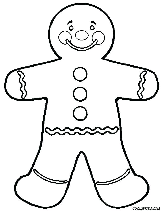 653x850 Gingerbread Man Colouring Pages Gingerbread Man Activity