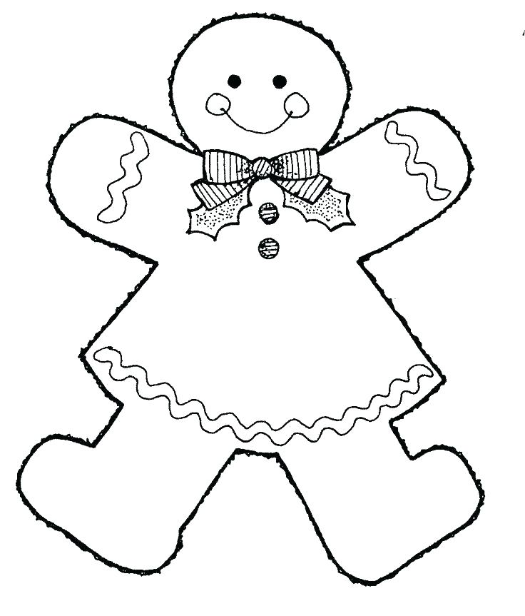 736x863 Gingerbread Man Colouring Pages Gingerbread Man Coloring Page