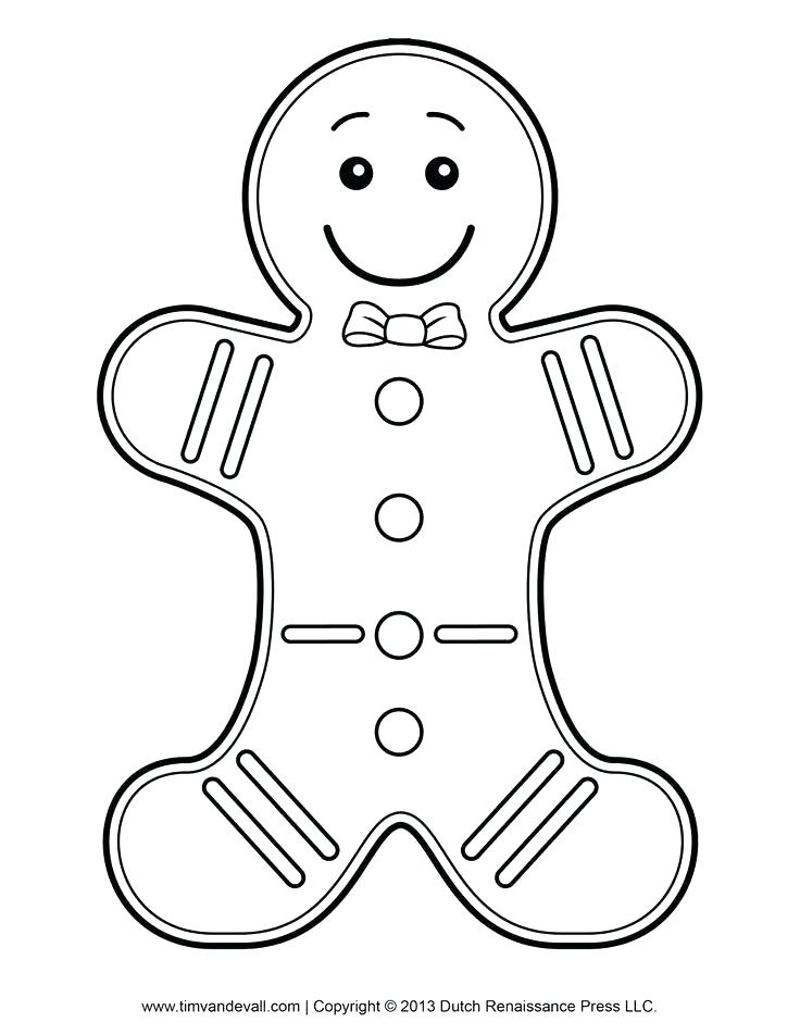 736x952 Gingerbread Man Colouring Pages Sturdy Gingerbread Man Coloring
