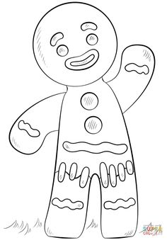 236x339 Shrek Coloring Pages Free Online