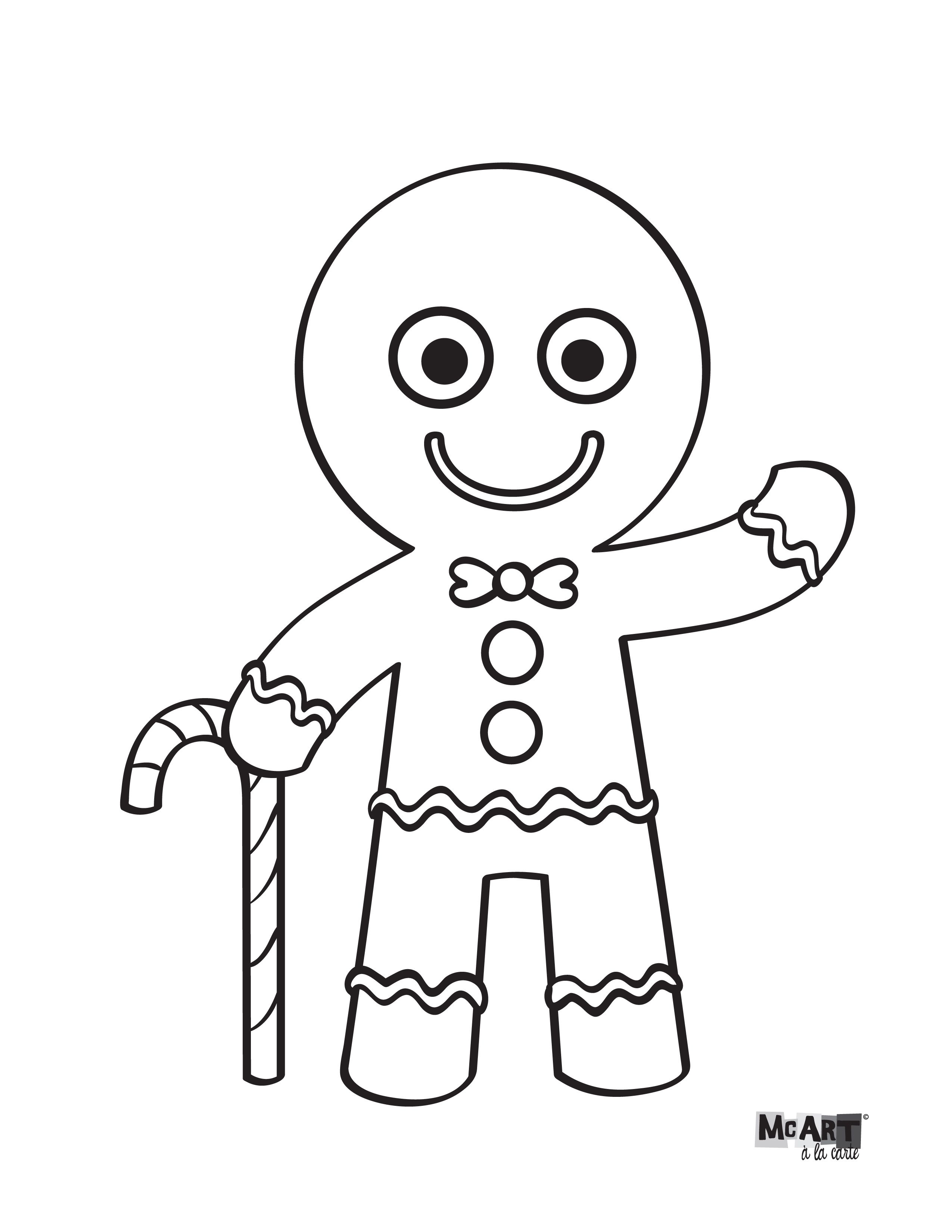 2550x3300 Gingerbread Man Coloring Page Coloring Pages