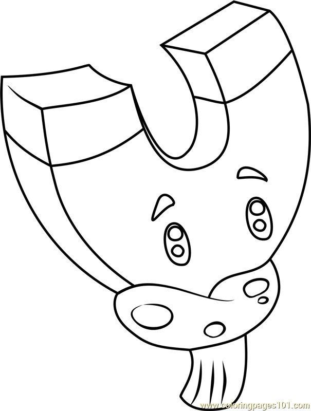 605x800 Magnet Shroom Coloring Page