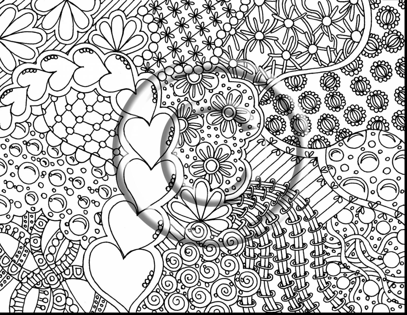 1650x1276 Trippy Shrooms Coloring Page Free Printable Pages Incredible