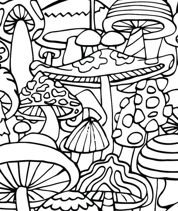 570x677 Adult Coloring Page