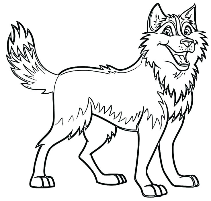 736x702 Siberian Husky Coloring Pages Husky Coloring Page Husky Coloring