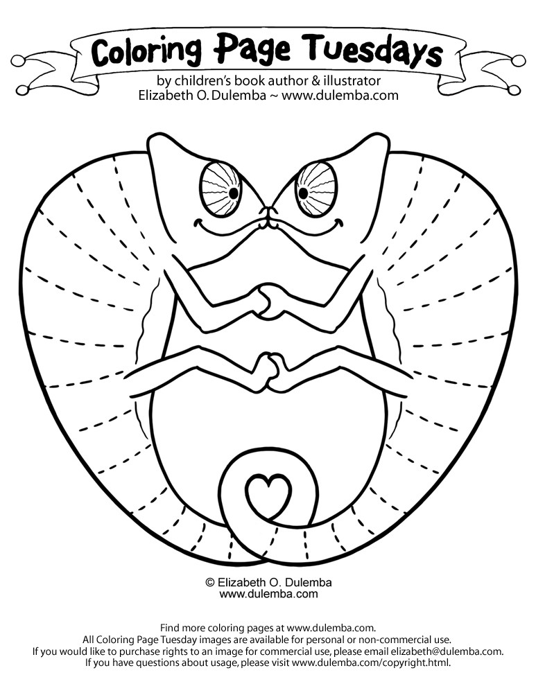 Silly Sally Coloring Pages