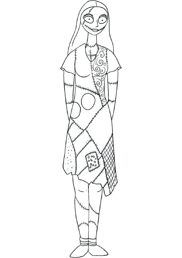 595x842 Sally And Lightning Coloring Pages Sally And Lightning Coloring