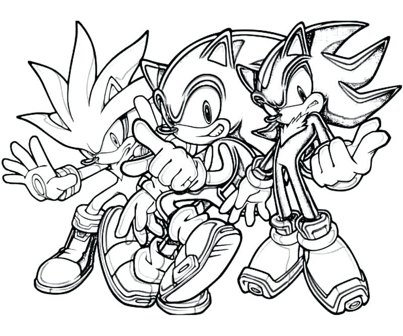 800x667 Sonic The Hedgehog Coloring Plus Sonic The Hedgehog Silver