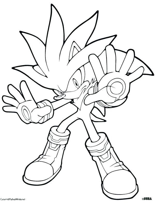 600x786 Sonic The Werehog Coloring Pages Sonic The Hedgehog Coloring Pages