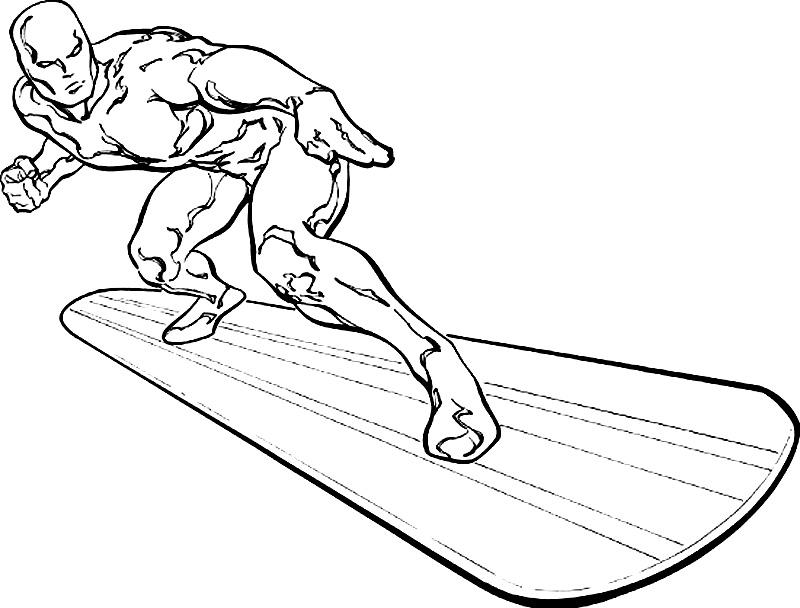 800x608 Silver Surfer