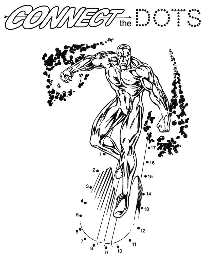 817x1024 Silver Surfer Coloring Pages