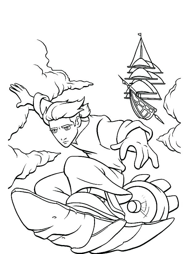 600x824 Silver Surfer Coloring Pages Treasure Planet Solar Surfing