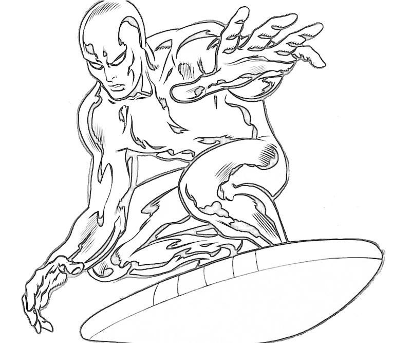 800x667 Silver Surfer
