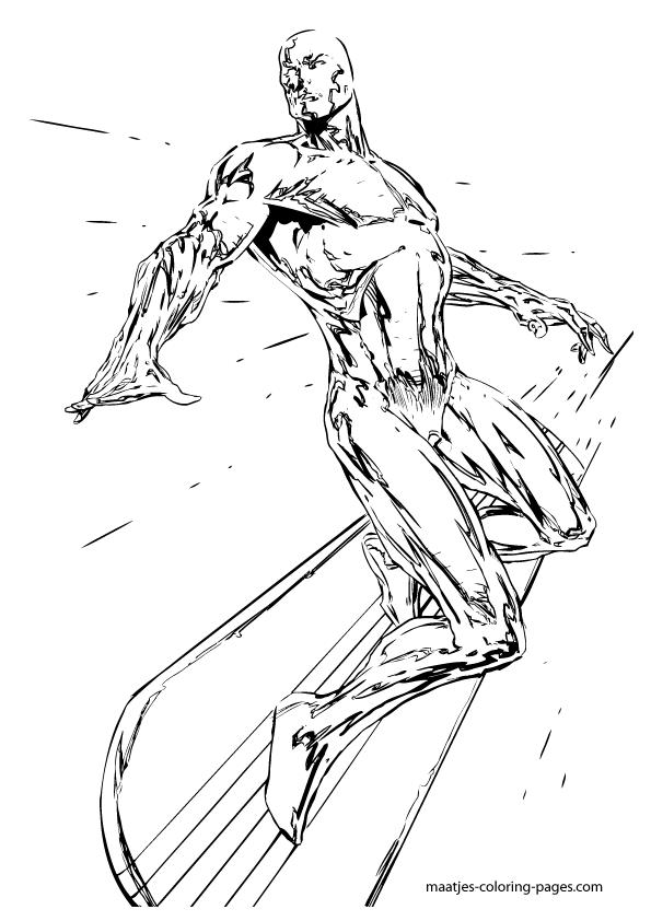 595x842 Silver Surfer