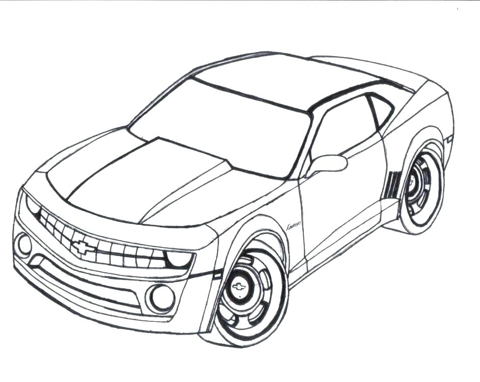 940x749 Chevy Coloring Pages Coloring Pages Lifted Truck Outline Drawing