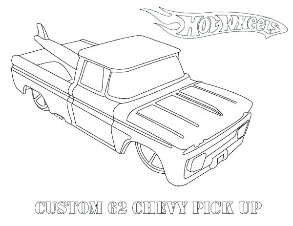 600x463 Old Pickup Truck Coloring Pages Page P