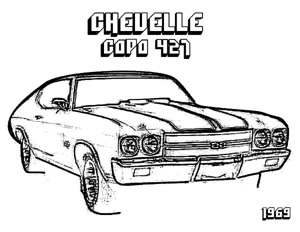 600x464 Chevelle Chevy Cars Coloring Pages Best Place To Color