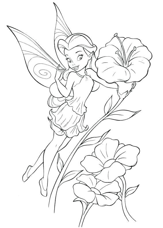 567x794 Disney Fairy Coloring Pages Or Fairy Coloring Pages Cartoon Fairy