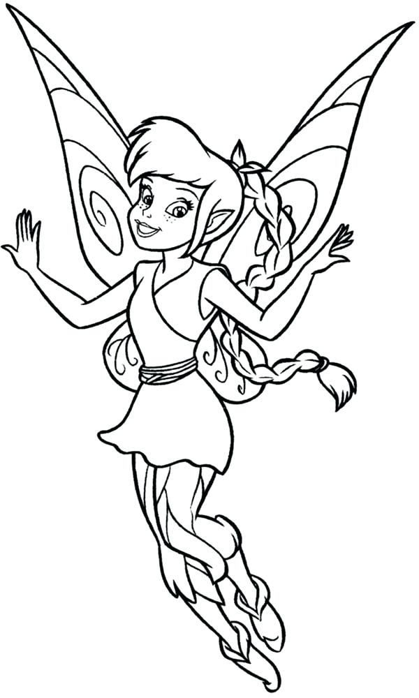 600x1000 Silvermist Coloring Pages Inspirational Fairies Coloring Pages
