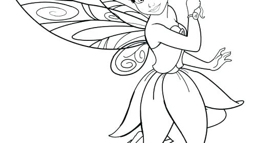 500x280 Silvermist From Disney Fairies Coloring Page Wesmec Site