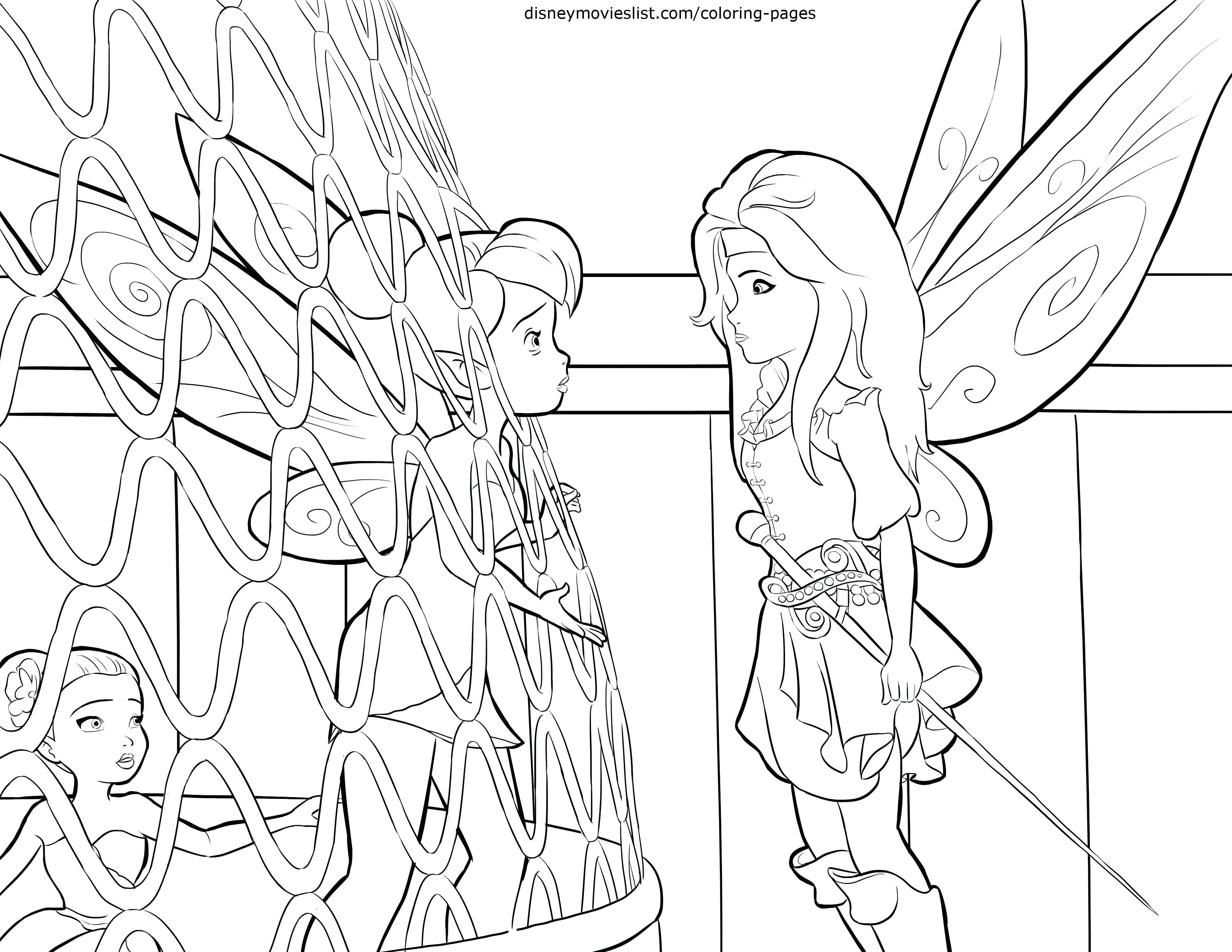 3300x2550 Coloring Pages For Kids Animals Top Fairies Free Page Tinkerbell