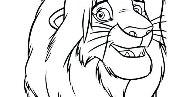 570x320 Simba Coloring Page Coloring Pages Coloring Pages Online Simba