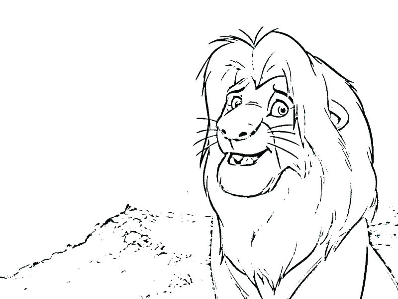 800x600 Simba Coloring Pages Simba And Nala Online Coloring Pages