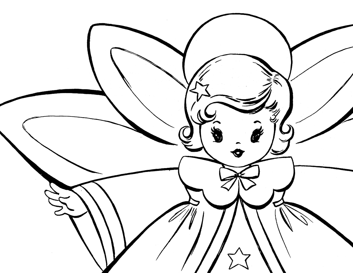 1224x945 Male Guardian Angel Coloring Page Home Pages Printable Preschool