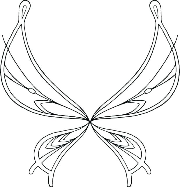 618x641 Angel Wings Coloring Pages Remarkable Angel Wings Coloring Pages