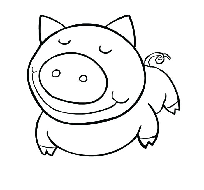 700x652 Free Printable Animal Colouring Pages For Adults Simple Animal