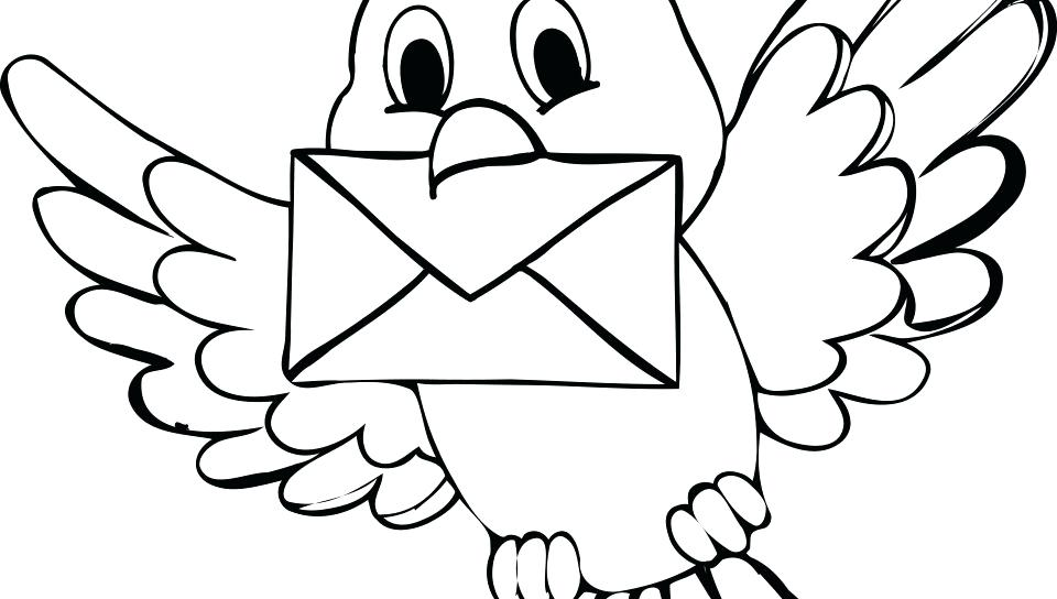 Simple Bird Coloring Pages at GetDrawings.com | Free for personal ...