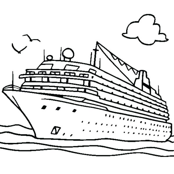 600x600 Boat Coloring Page Boat Coloring Page Boat Coloring Pages Pdf