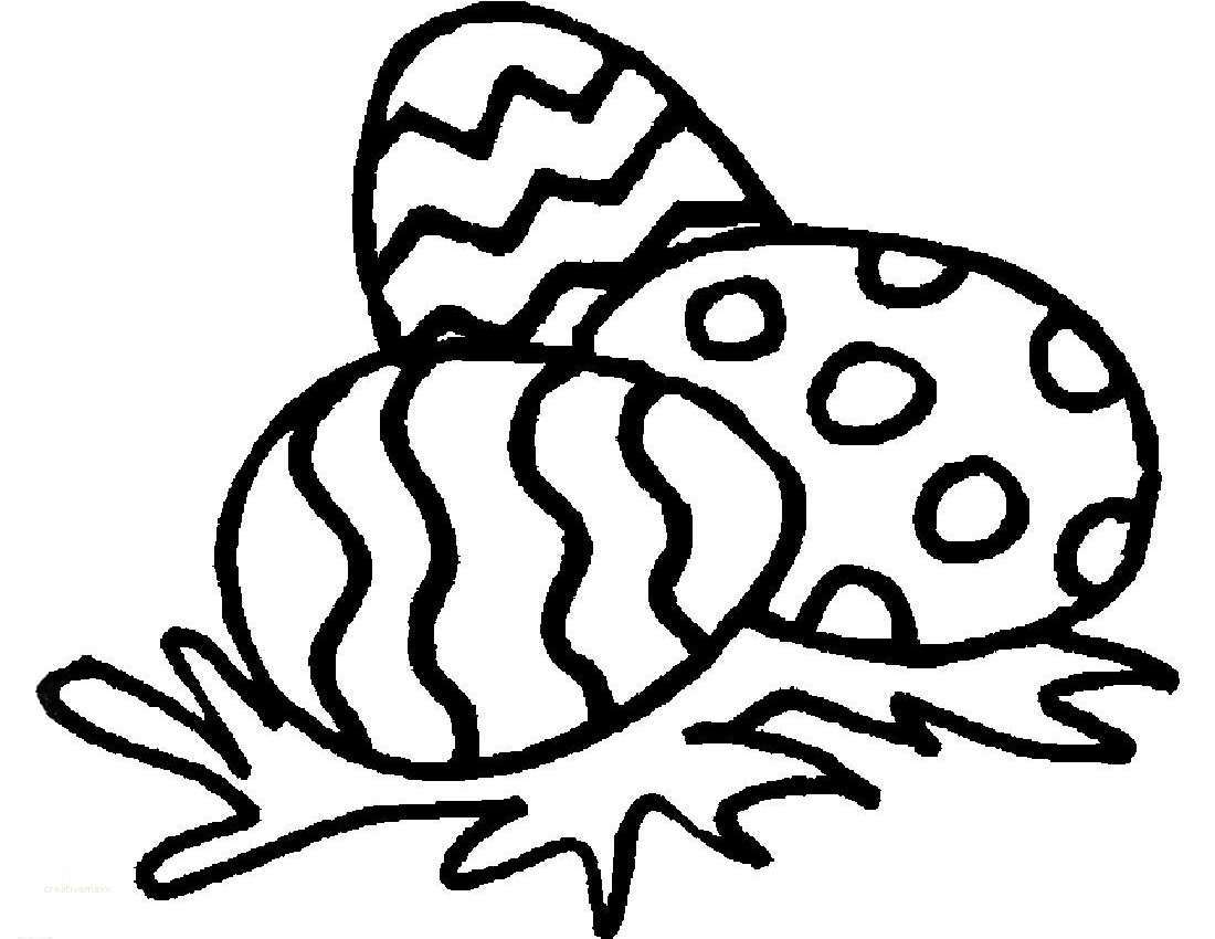 1100x850 Easy Easter Bunny Drawing Fresh Easter Egg Design Coloring Pages