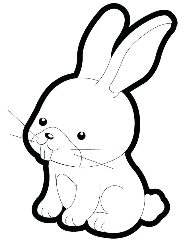 650x841 Bunny Coloring Pages Printable Educational Coloring Pages