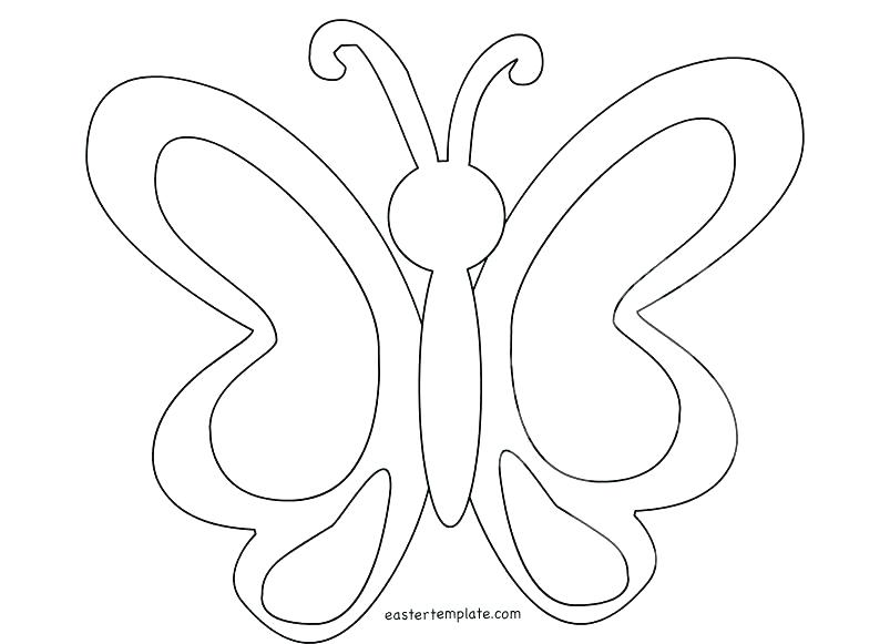 803x581 Coloring Page Butterfly Simple Butterfly Coloring Pages Color Page