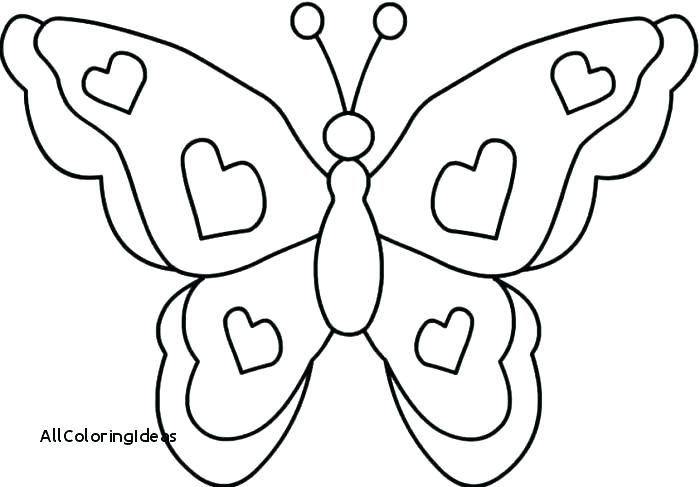 700x487 Simple Butterfly Coloring Pages Simple Butterfly Coloring Pages