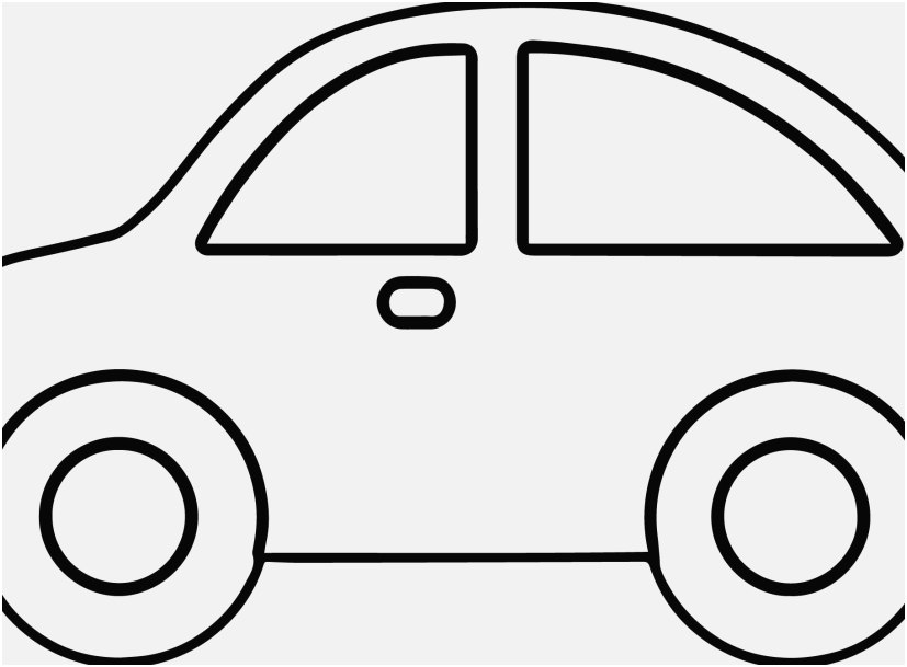 Simple Car Coloring Pages